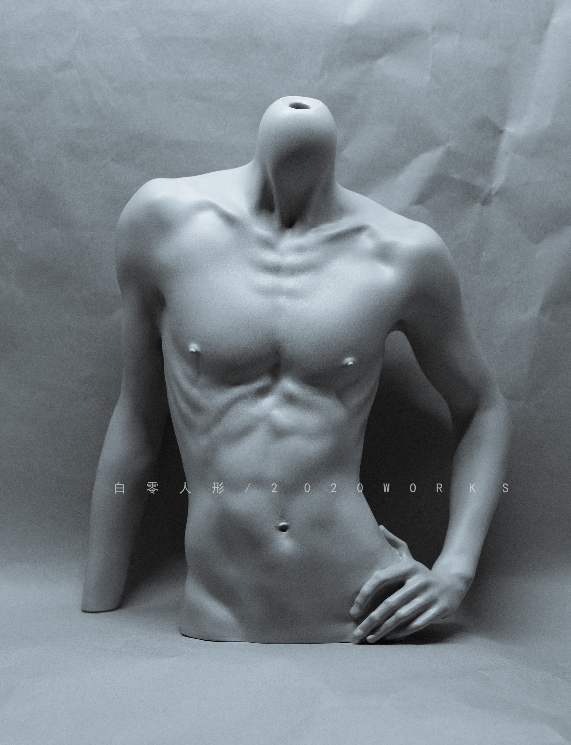 [2nd Open] 1/3 Male Body Stand Sigma Σ