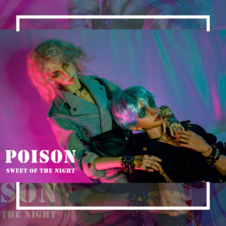 POISON【1/3 male&female outfit】