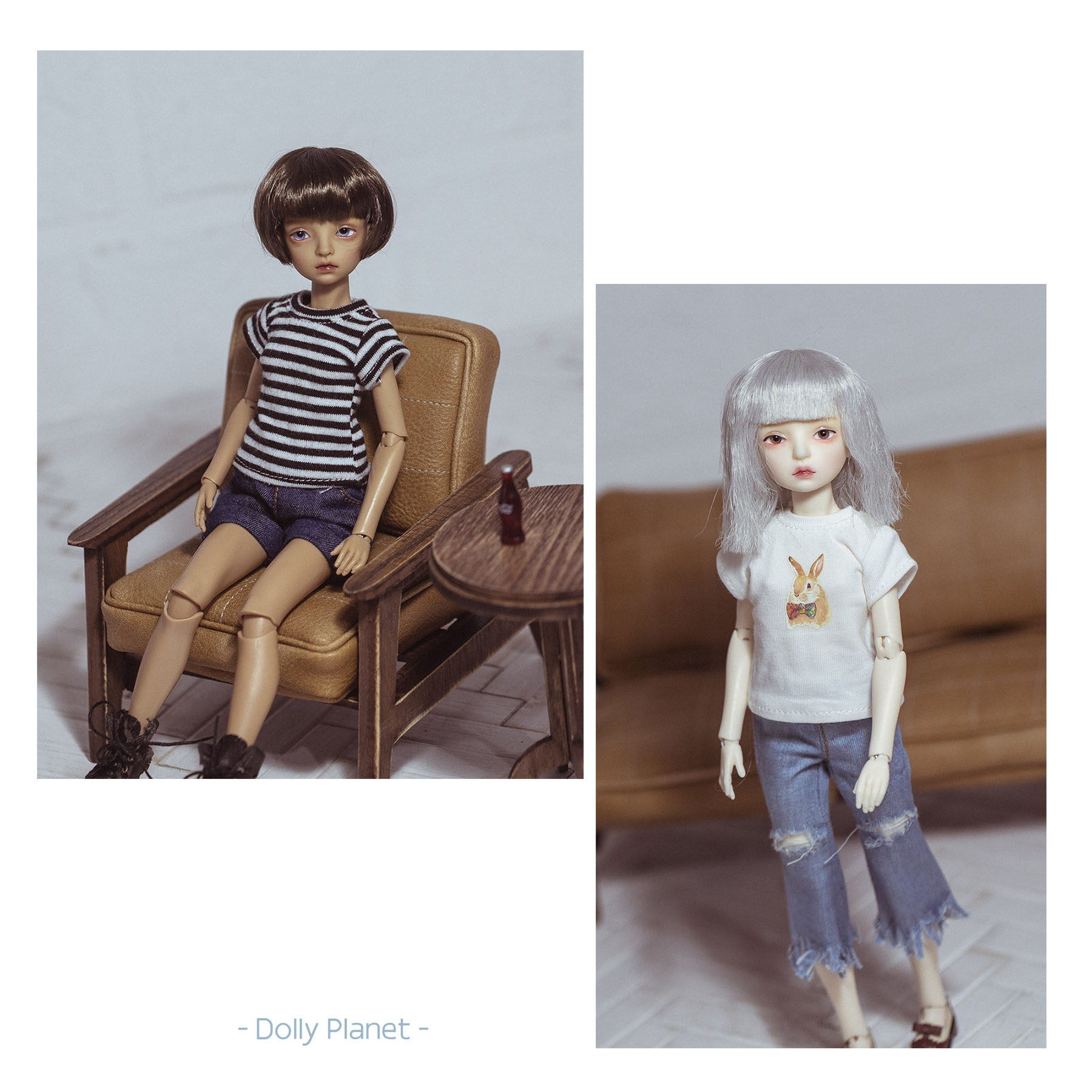 BO-07 Doll Outfit Tshirt Blythe/OB24/Licca