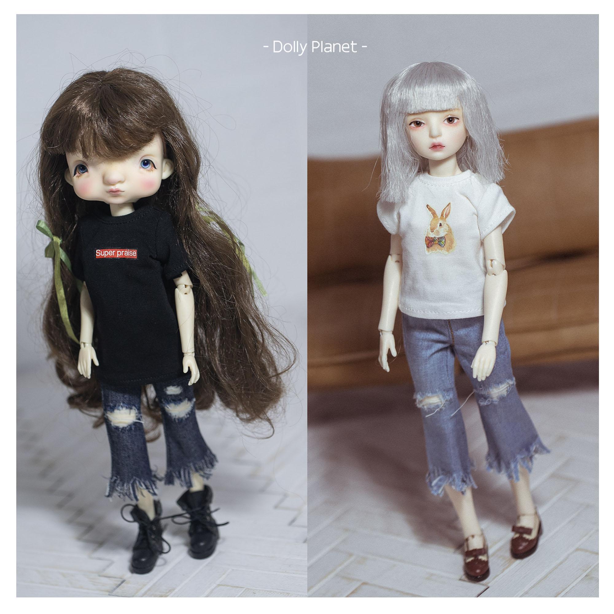 BO-05 Doll Ripped Jeans Blythe/OB24/Licca