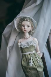 "1/3,1/4 SD/MSD BJD Outfit ""Jade"""