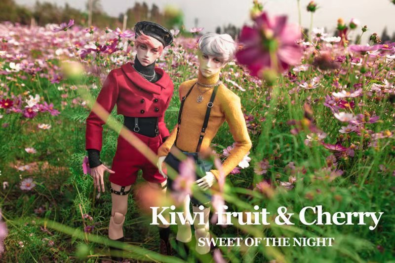 Kiwi Fruit & Cherry outfit