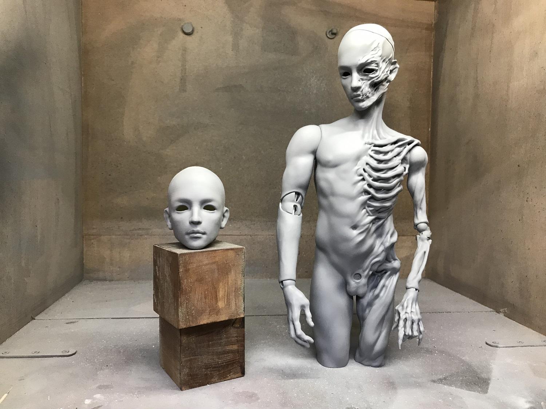 Skeleton Body Stand-Kyle