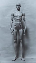 【白零 White】1/3 72cm Male BJD θ Theta