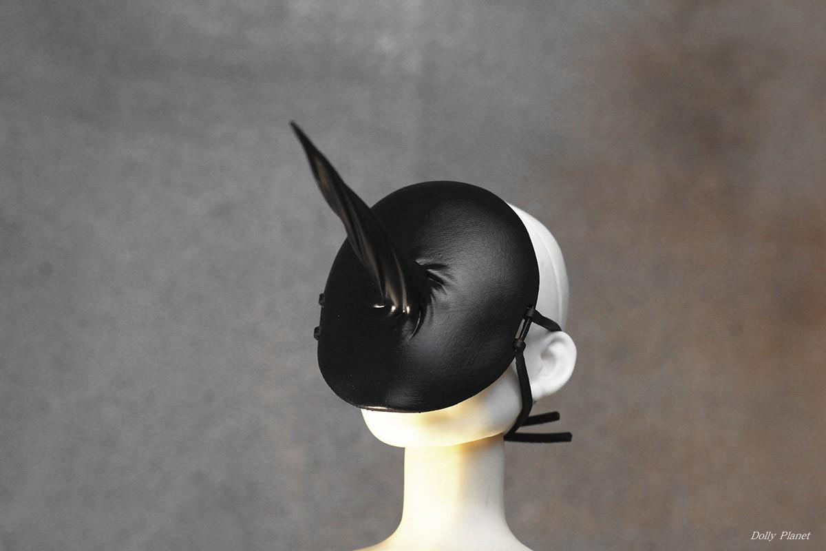 Black Sharp Thorn Mask