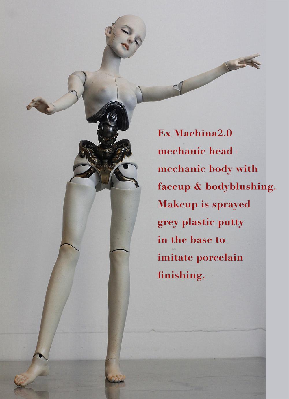 2.0 mechanic head+mechanic body