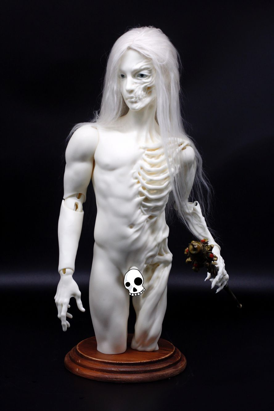 Skeleton Body Stand-Kyle&Keith Head