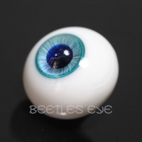 【Beetles】H-25SP Ice Blue Glass Eyes