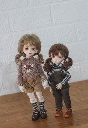 [QQ-68 *Little Sisters*  Mohair Wig