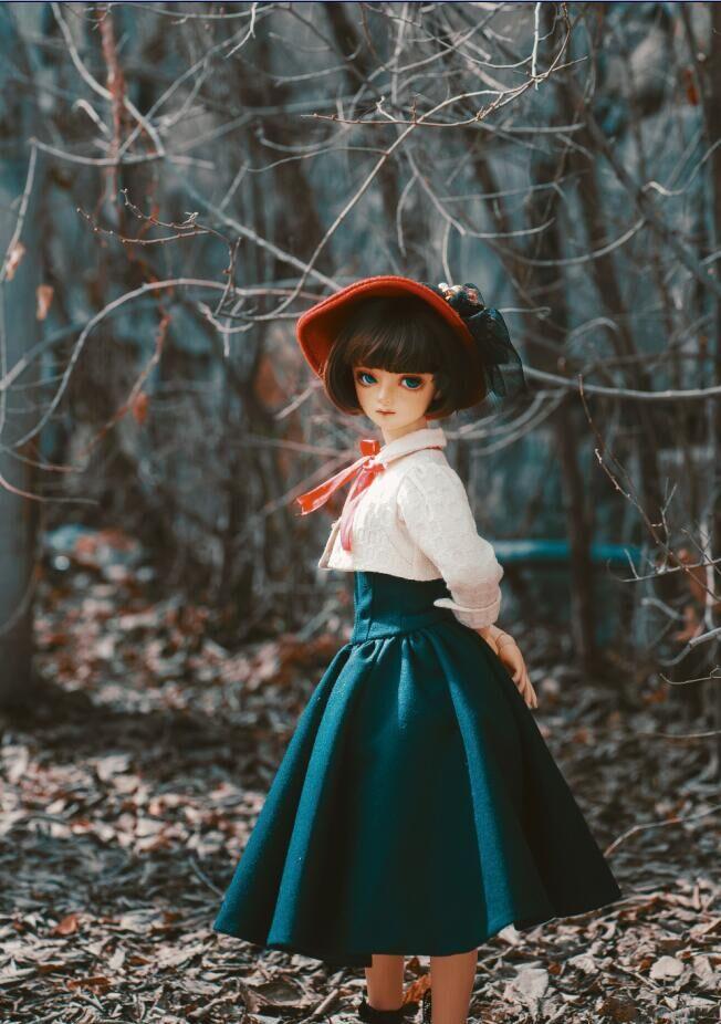【瑜瑜酱】 *purplish blue Dress*