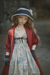 【瑜瑜酱】*Warm Winter* BJD Dress/Outfit