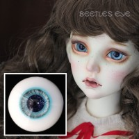 【Beetles】H-25 Ice Blue Glass Eyes