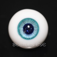 【Beetles】H-25SP Ice Blue Glass Eyes
