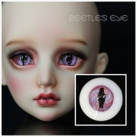 【Beetles】H-30 Beast  Glass Eyes 【Flat bottom No stem】
