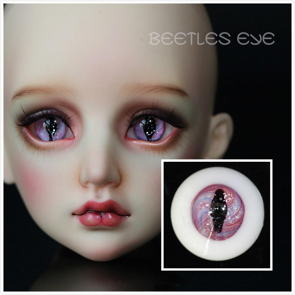 【Beetles】H-30 Beast  Glass Eyes 【Flat bottom No stem】