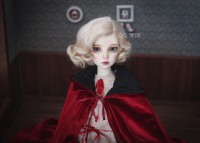 【DollyPlanet】BJD Synthetic Mohair Wig  QQ-54 *Vampire Queen*