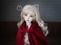 【DollyPlanet】BJD Synthetic Mohair Wig  QQ-55 *Jane*