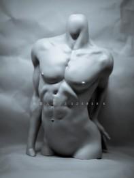 【白零 WHITE】1/3 Male Body Stand-γ