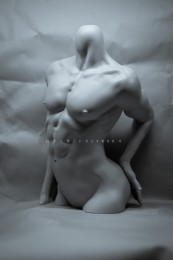 【白零 WHITE】1/3 Male Body Stand-γ