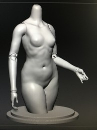 1/3 female body part [1-part torso](preorder)