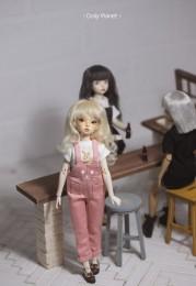 BO-02 Doll Overall pants  Blythe/OB24/Licca