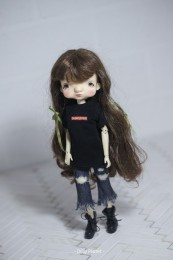 BO-05 Doll Ripped Jeans Blythe/OB24/Licca