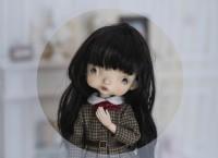 Mee-【PanDolla Box】1/6 self sculpt Doll Head