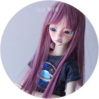 QQ-28 Purple red/ Blue  1/4 SIZE