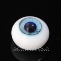 【Beetles】H-25 Ice Blue Glass Eyes