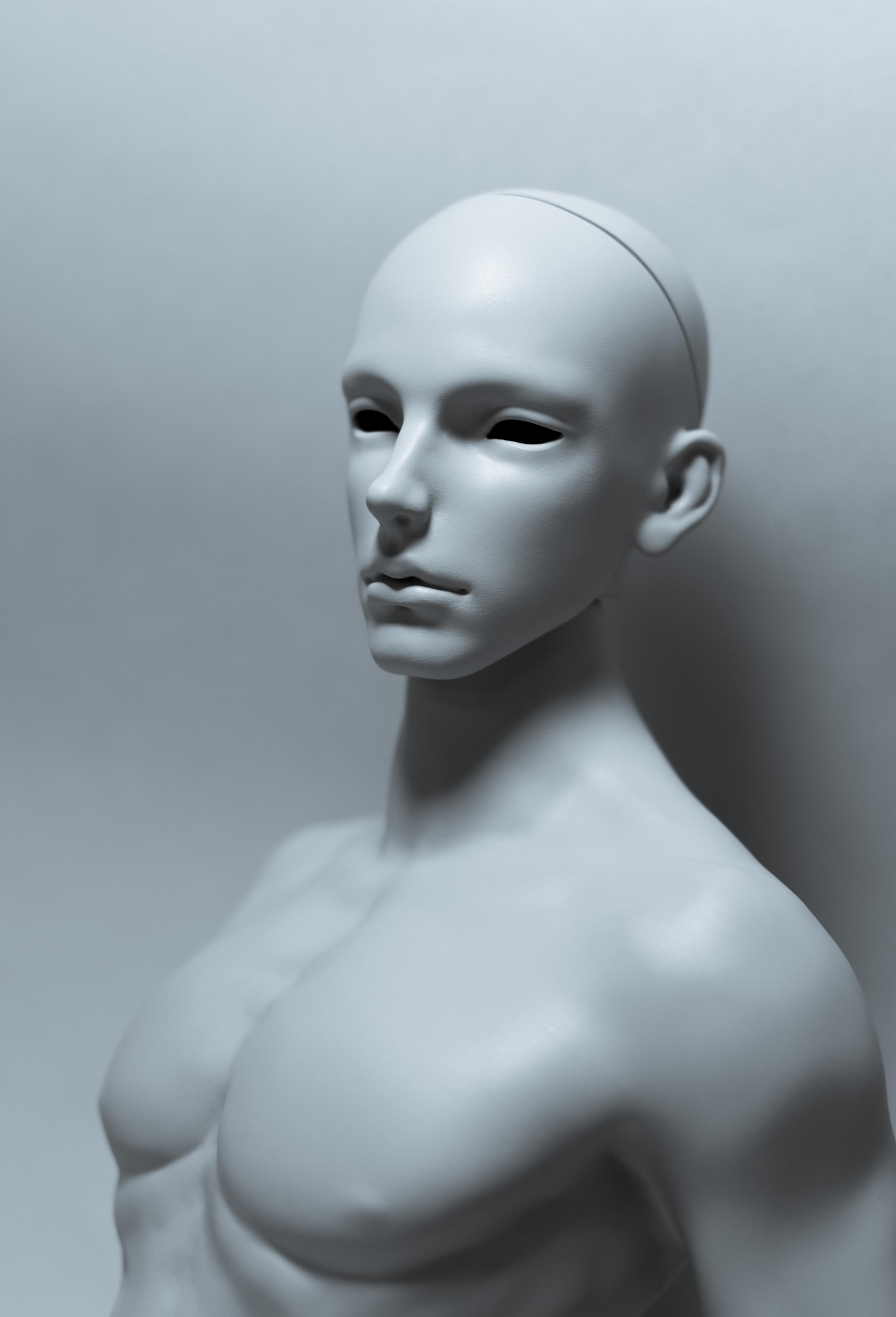 SIN – selfsculpted head【白零 White】
