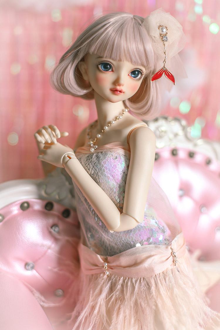 *Pink Lingling* BJD/SD/MSD Doll Dress  【瑜瑜酱】