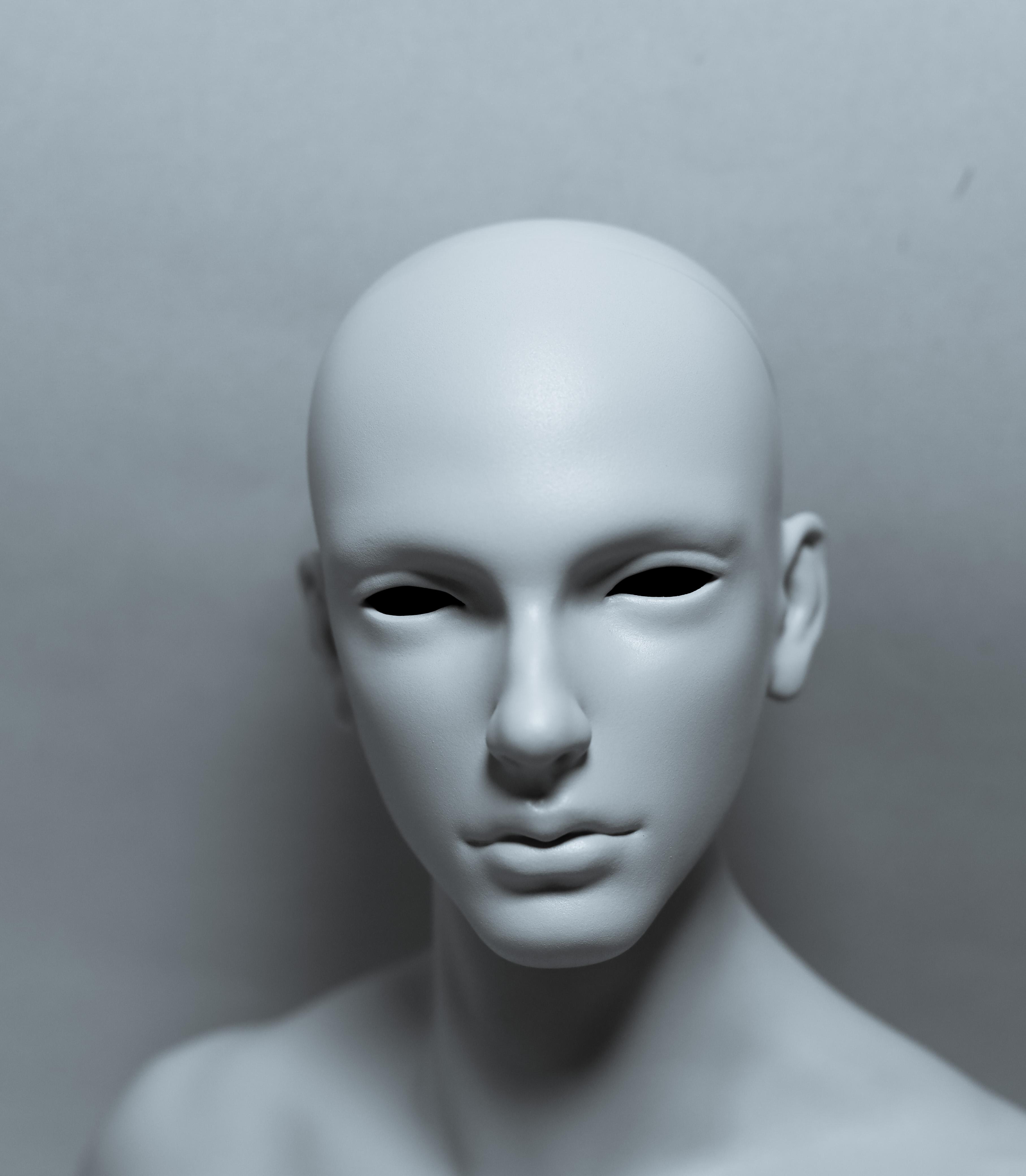 Cos – selfsculpted head【白零 White】