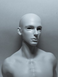 Cos – selfsculpted head【白零 White】