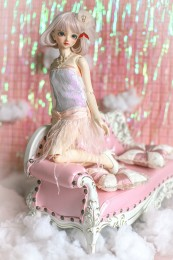 *Pink Lingling* BJD/SD/MSD Doll Dress  【瑜瑜酱】