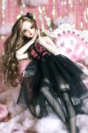 *Black Lingling* BJD/SD/MSD Doll Dress  【瑜瑜酱】