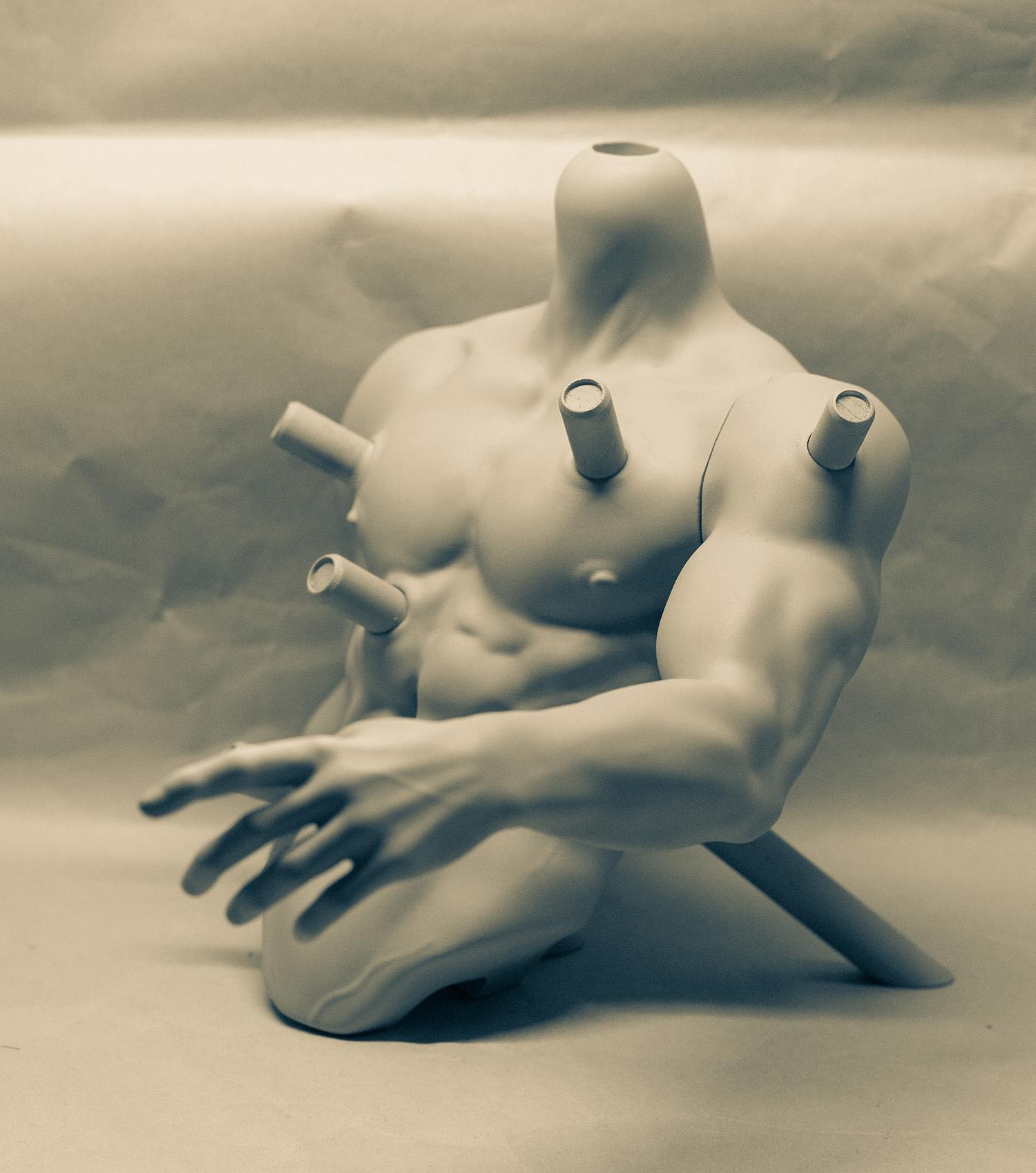 白零 1/3 Torso/ Body Stand – μ