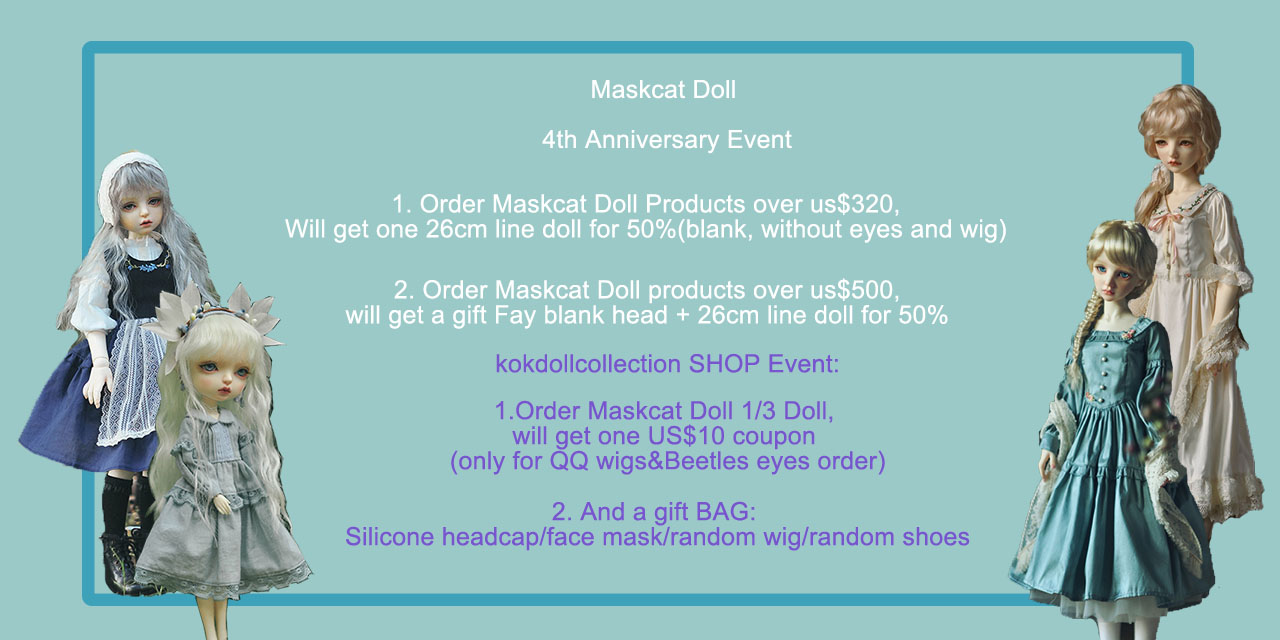 MASKCAT 4th Anniversary event