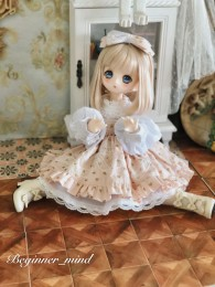 *Peach girl* dress