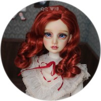 QQ-48 *Summer Dream*  Light gold/Dark brown/Red