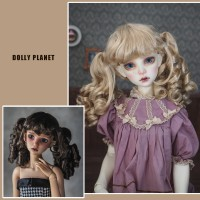 【DollyPlanet】BJD Synthetic Mohair Wig  QQ-53 *Cheerleader*