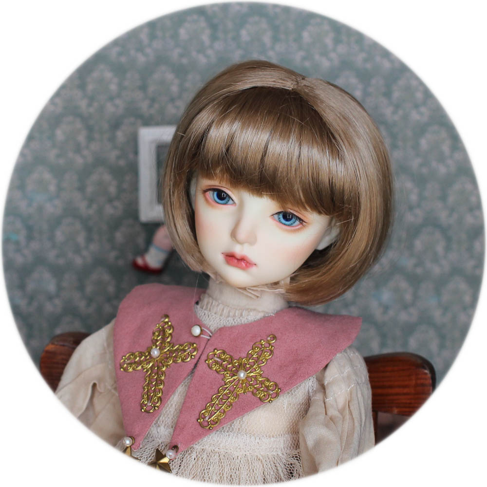 【DollyPlanet】BJD Synthetic Mohair Wig  QQ-66
