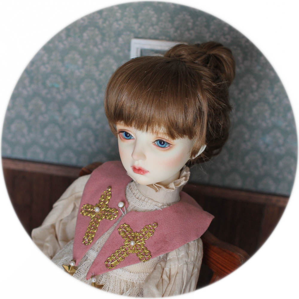 QQ-67 *Pride and Prejudice*【DollyPlanet】BJD Synthetic Mohair Wig