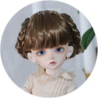 QQ-71*Lolita*  synthetic mohair wig