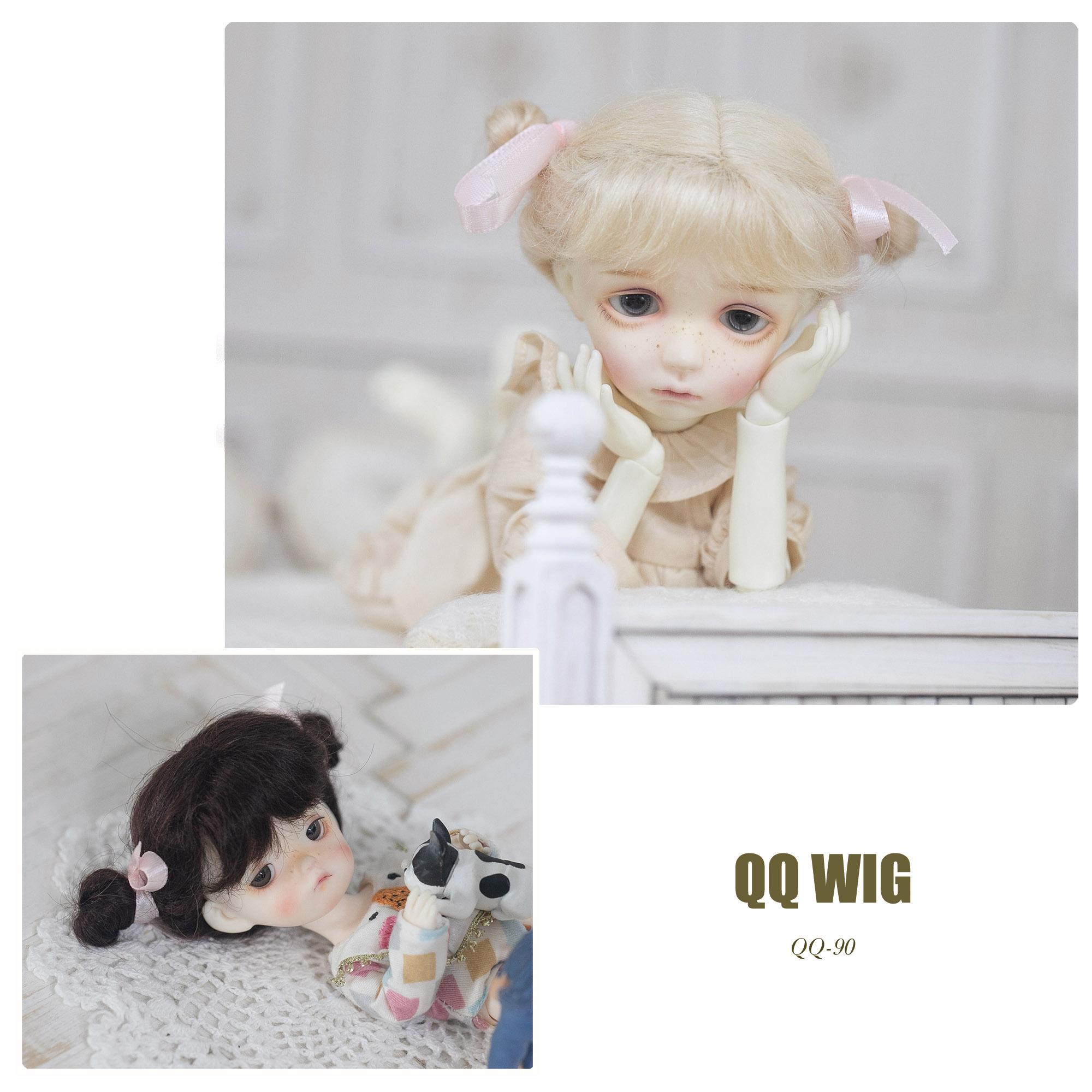QQ-90 Mohair Wig