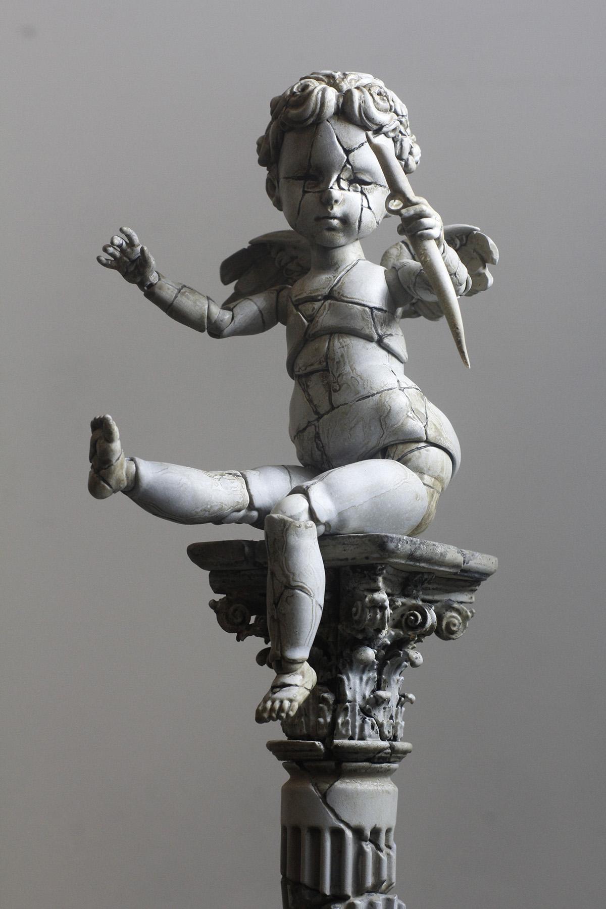 瑜瑜酱1/6 BJD – Stone Little Angel Cupid