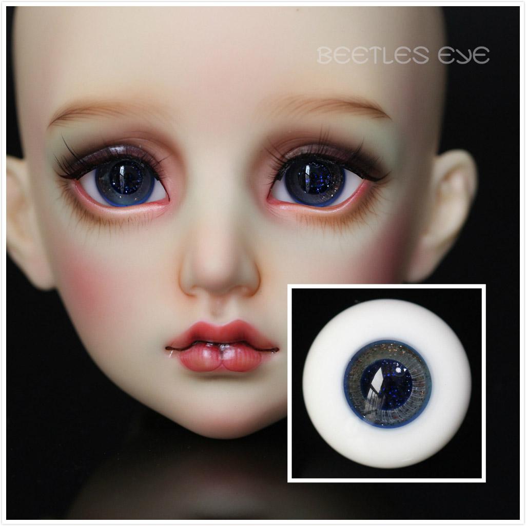 R-21 ink blue [Beetles] Glass Eyes