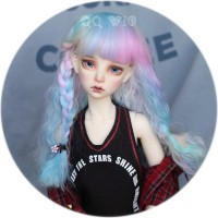 【Dolly Planet】QQ-203 Heat-resistance Wig *Blossom* version2