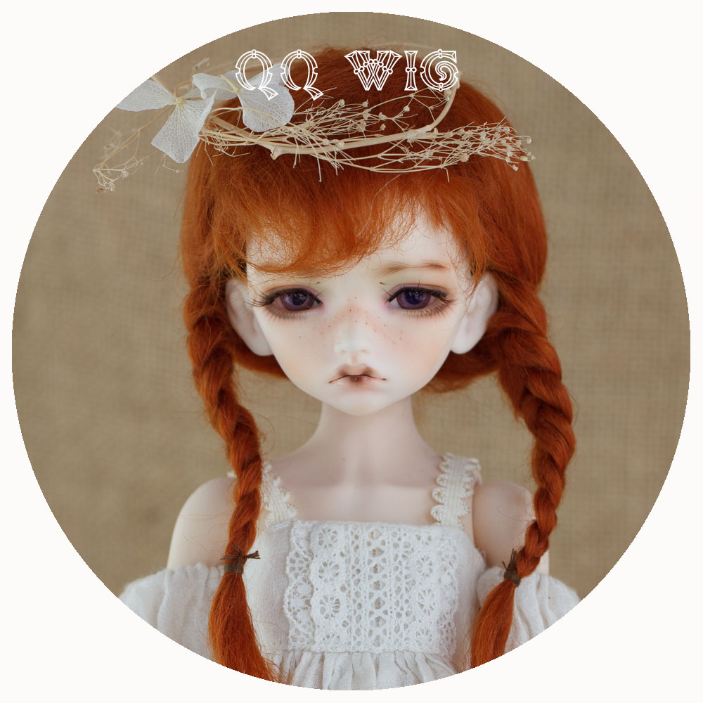 QQ-05 Carrot red/Brown/Cappuccino/Blond