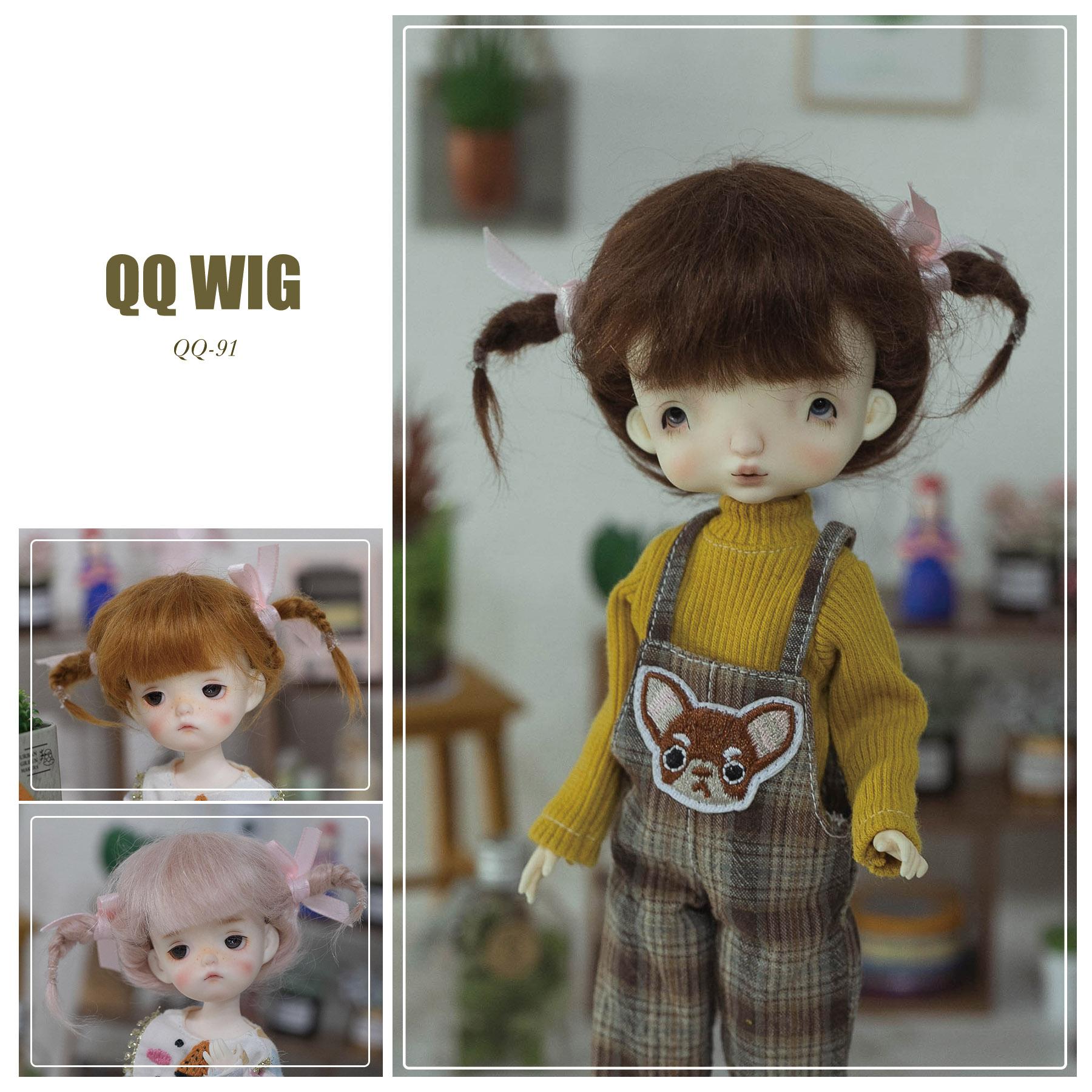 QQ-91 Mohair Wig