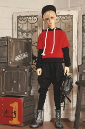 1/3 BJD Boy Jacket Baseball Coat